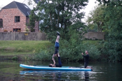 Candle-Stick-on-Paddle-board